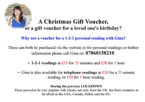 Gift Voucher's  (from)