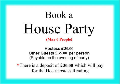 BOOK A PARTY (DEPOSIT)