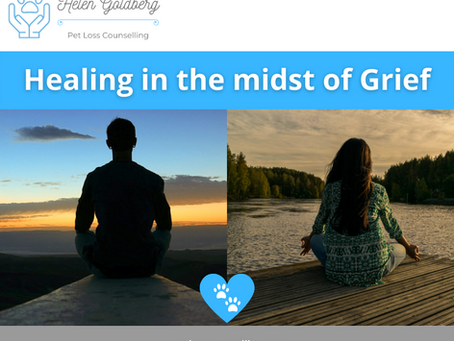 Healing in the Midst of Grief