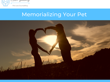 Memorializing Your Pet