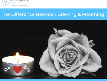 The Difference between Grieving and Mourning