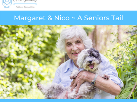 Margaret & Nice ~ A Seniors Tail