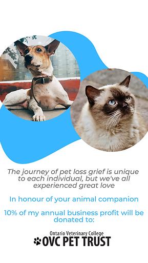 The journey of pet loss grief is unique