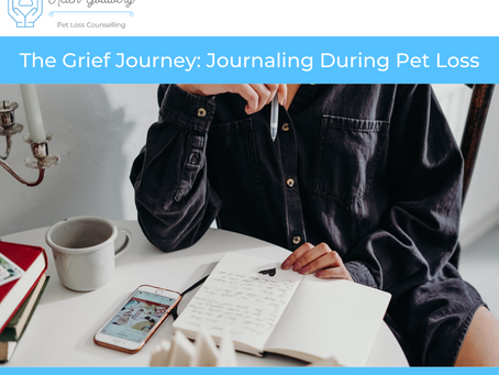 The Grief Journey: Journaling During Pet Loss
