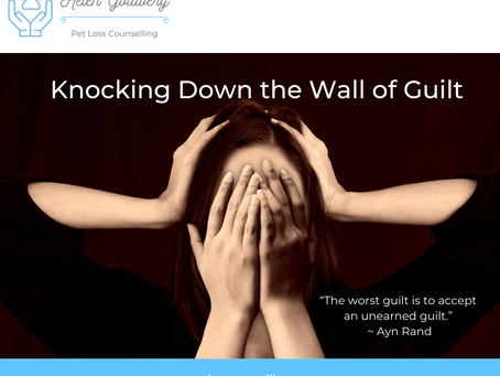 Knocking Down the Wall of Guilt