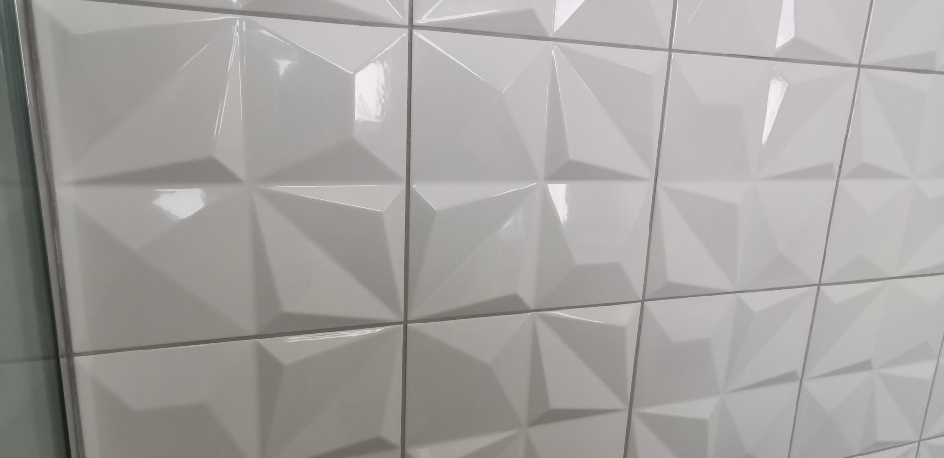 Multishapes White Gloss by Dune | Ceramic tiles made in Spain