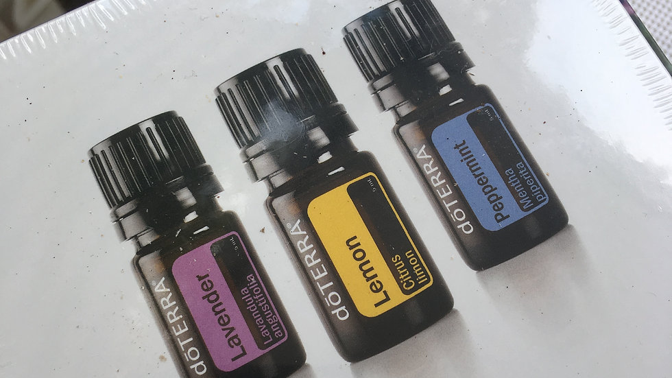 Trio Essential oils kit