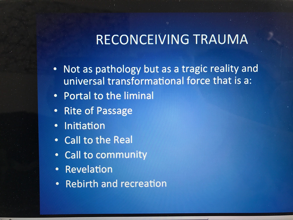 trauma as an universal transformational force