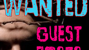 Wanted Guest Posts
