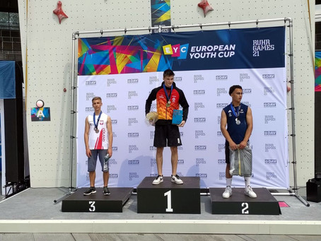 Oskar Szalecki brązowym medalistą Pucharu Europy Juniorów