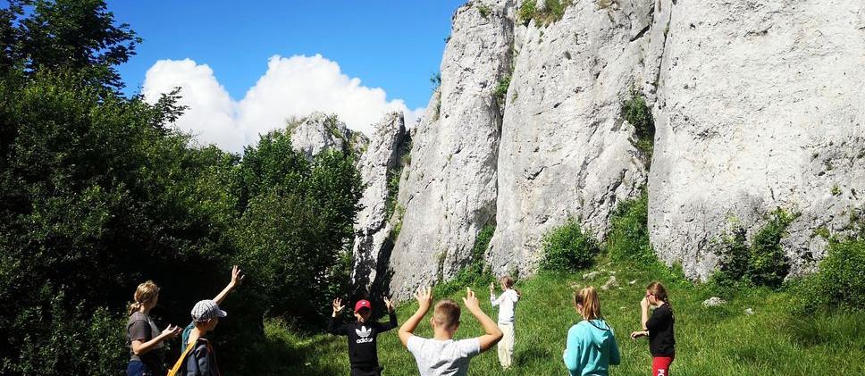 Rozgrzewka przed wspinaczka w skałach