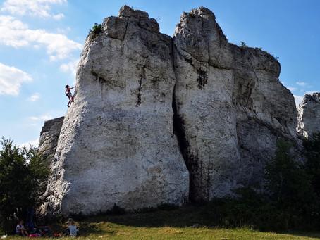 Majówka w skałach