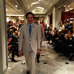 Bergdorf Goodman mens fashion presentation  2014