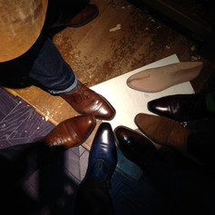 Shoe Party at the Berluti NYC flagship 2014