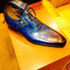 One blue shoe leads to another, then another...