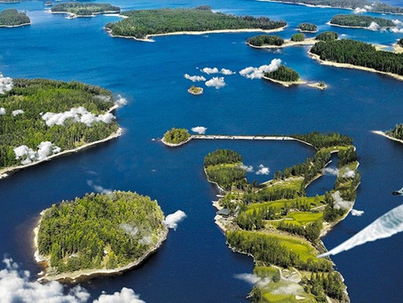Страна тысячи озёр