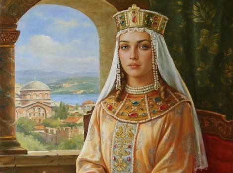 Women  who built Jerusalem:               Aelia Eudocia