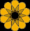 Flower shaped decoration
