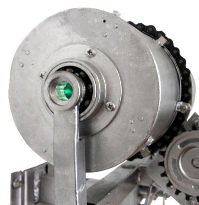 Detalle del caleidoscopio