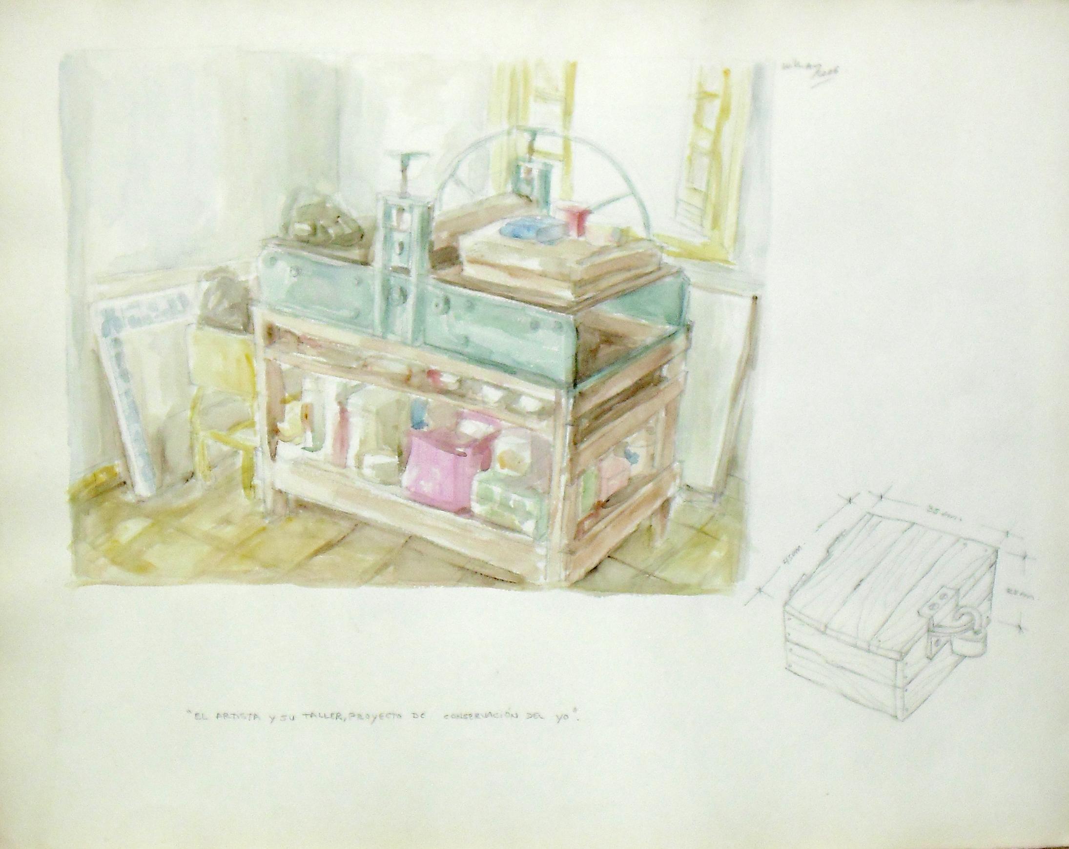 El artista y su taller.