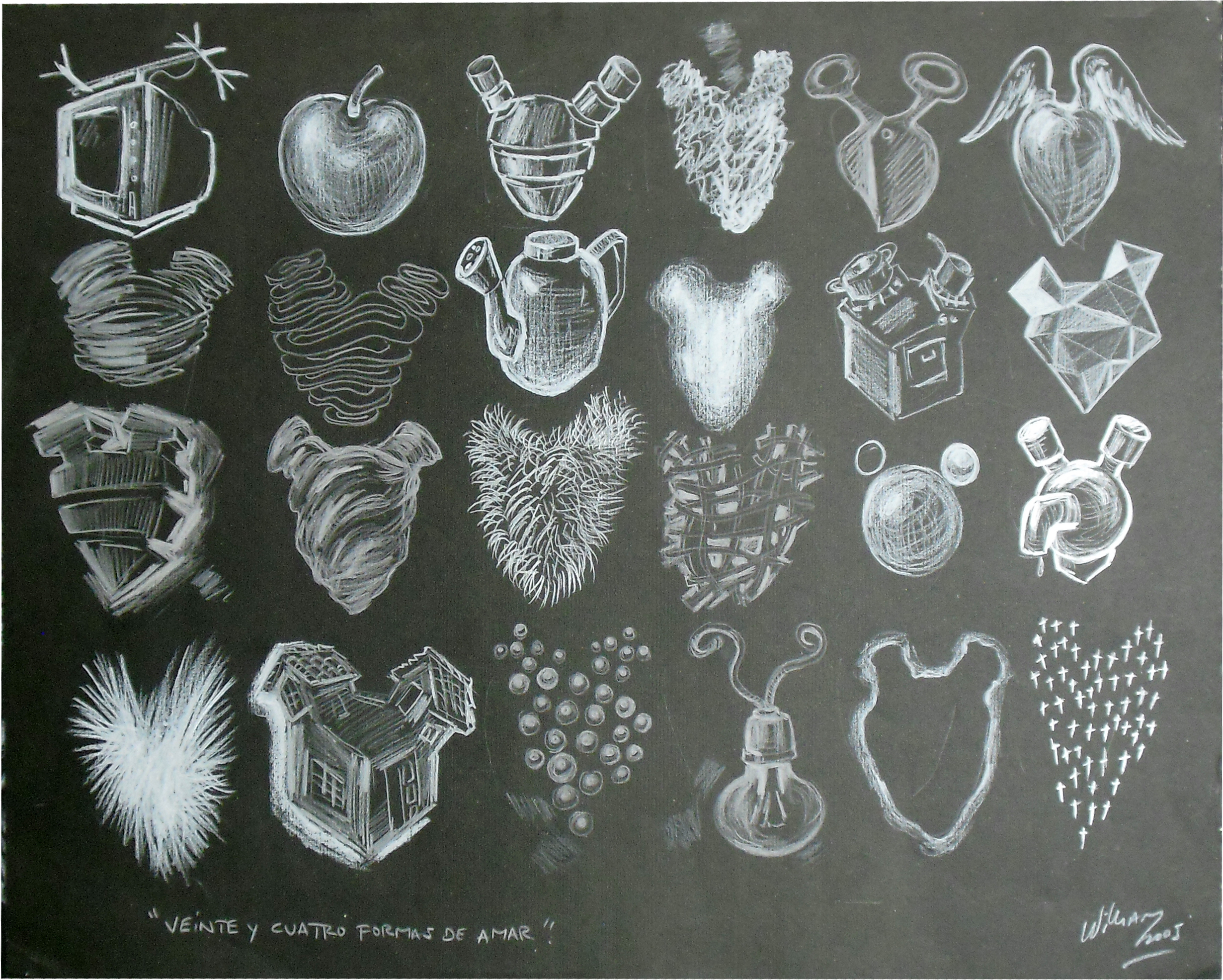 24 formas de amar