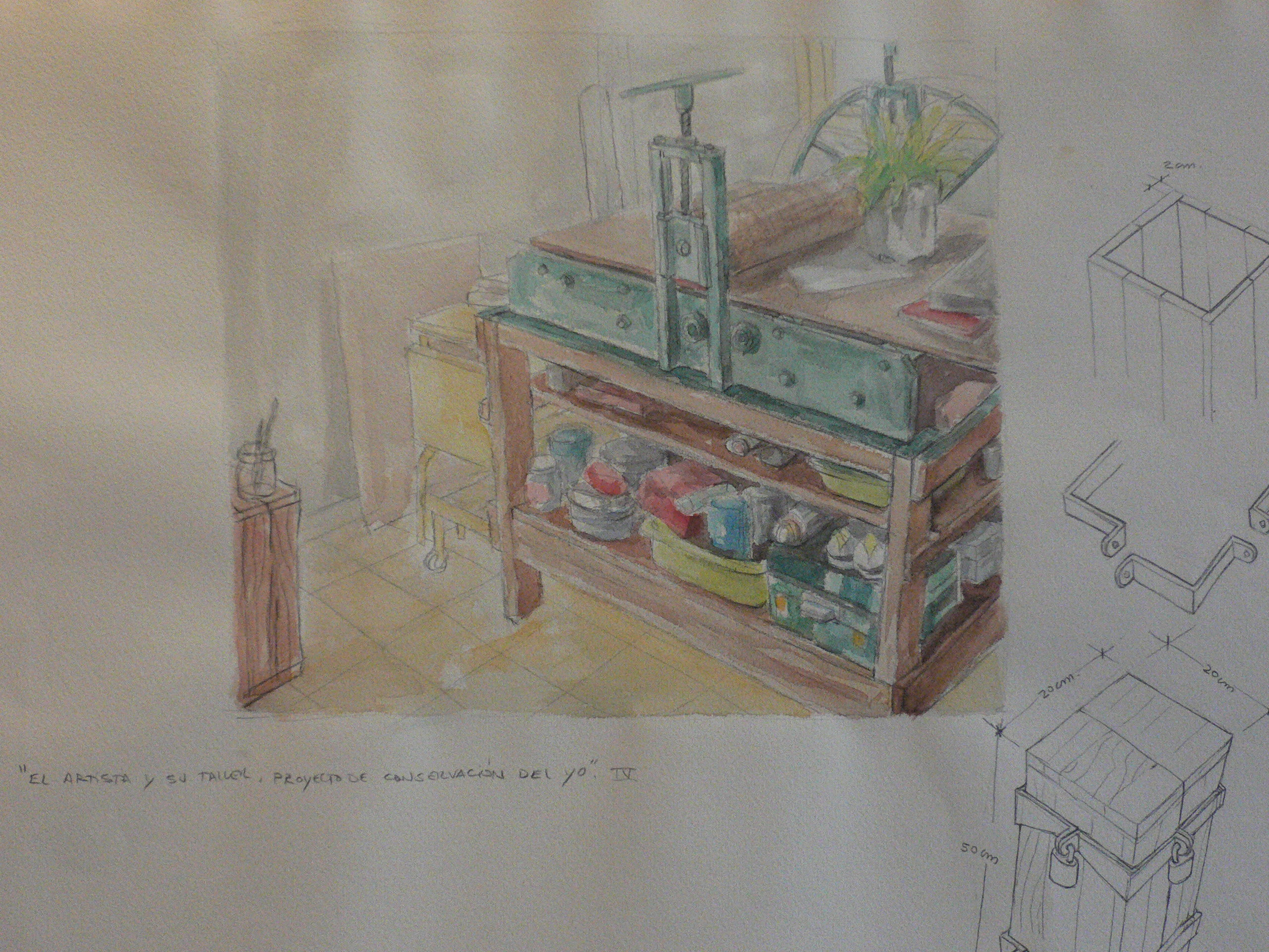 El artista y su taller