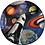 anniversaire astronaute, fusée, assiette en carton, fête, décoration, suisse, happyboxday.ch