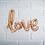 Ballon Mylar LOVE, décoration facile, mariage, fête, chambre fille, suisse