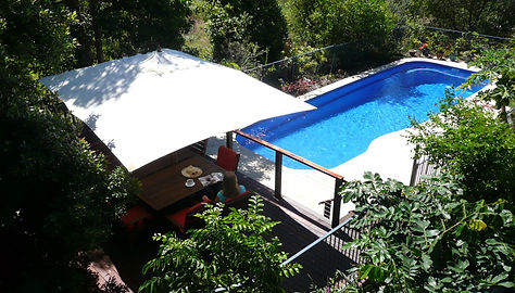 Swimming Pool and BBQ Deck