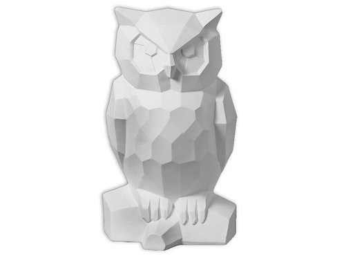 "Faceted Owl - 11"" X 5"""