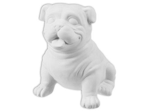 """Buddy Bulldog - 5"""" X 5"""""""