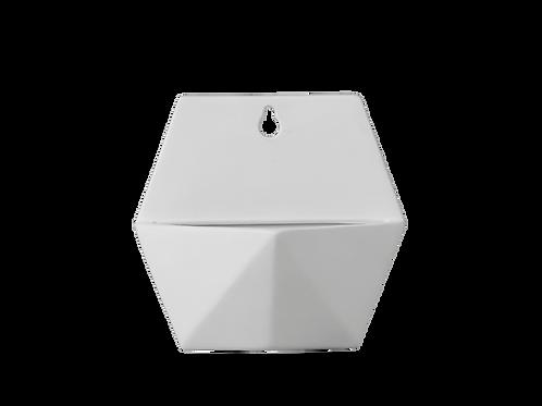 """Hexagon Wall Planter 7"""" x7"""""""