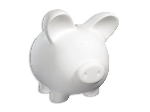 """Piggy Bank - 5"""" X 4"""""""