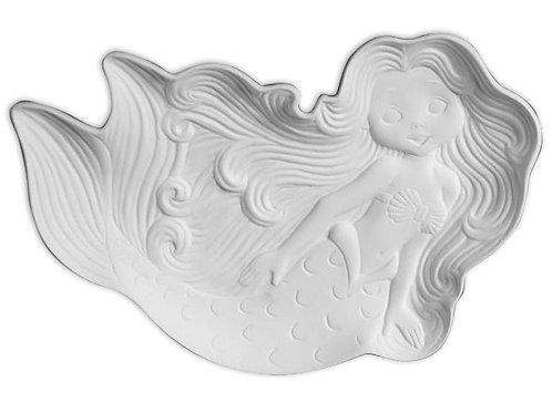 """Mermaid Dish - 9"""" X 6"""""""