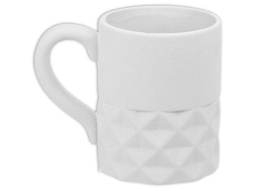 Geometric Split Mug - 16 oz