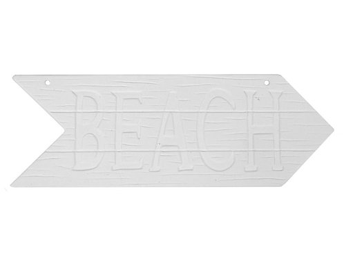 "Beach Plaque - 12"" x 4"""