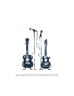 Acoustic Transitions Guitar Graphic