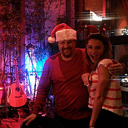 Pat and Syd at Wild Vine Dec 2014