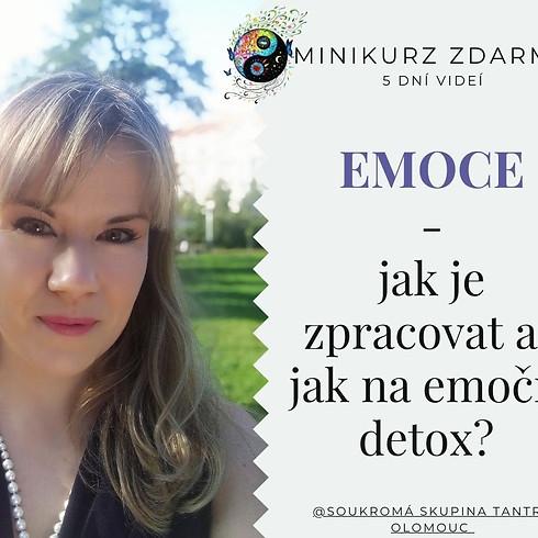 Minikurz Emoce - 2. díl živě