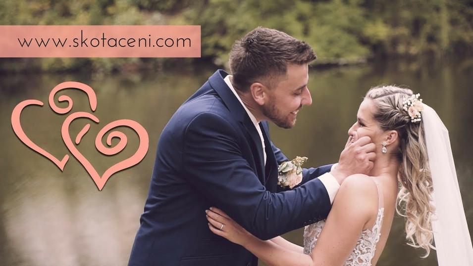 Emotivní a efektový svatební videoklip ♥ Kačky a Aleše