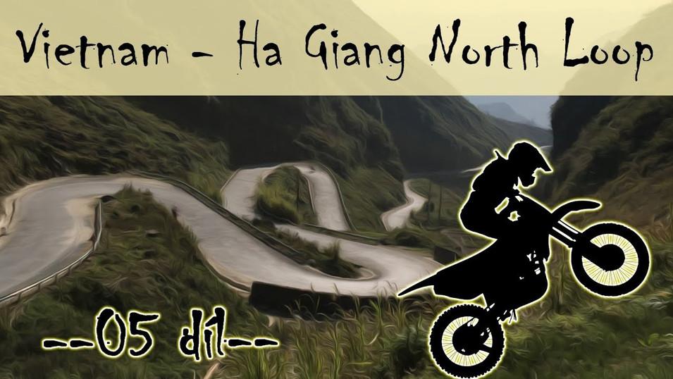 cestopis Ha Giang North Loop