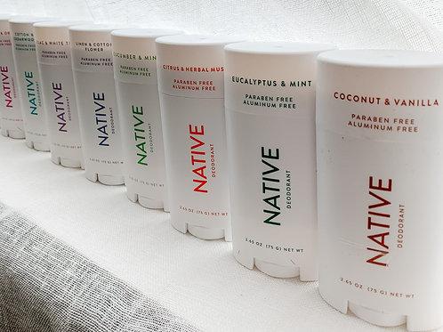 NATIVE - Natural Deodorant