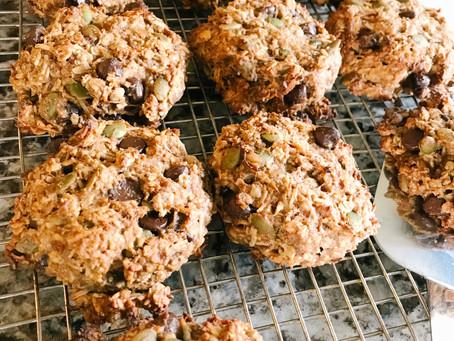 One Bowl Breakfast Cookies