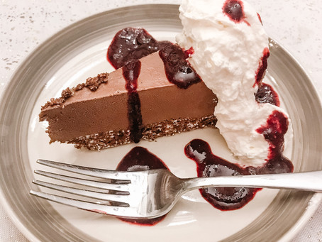 Dreamy No Cheese Chocolate Cheesecake