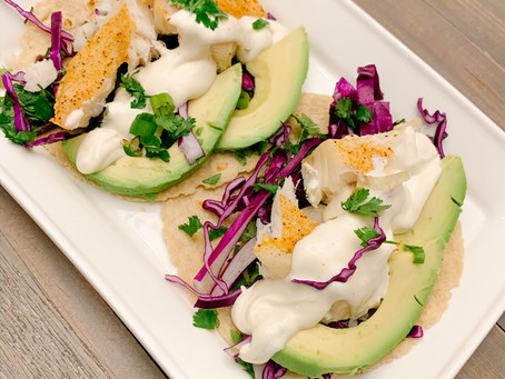 Fairly Easy Fish Tacos