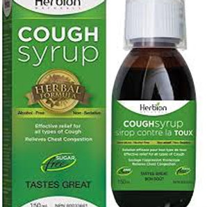 Herbion Cough Syrup (children's & adult avail)