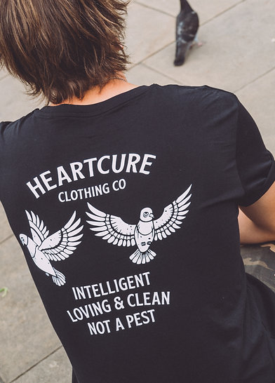 Respect All Life - Pigeon Tee