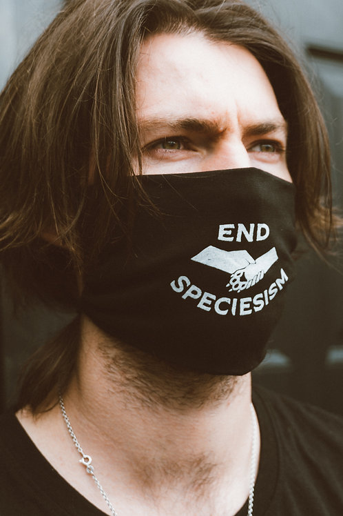 End Speciesism Organic Face Mask