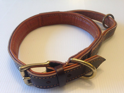 Leather Collar with Handle