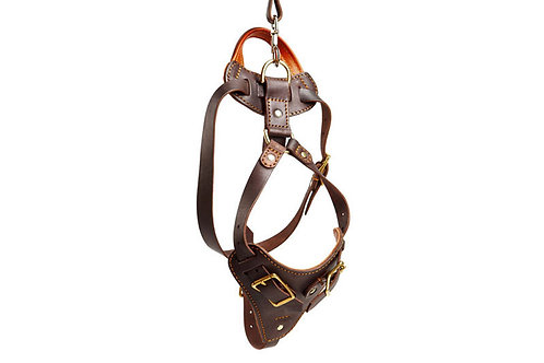 Working Dogs Leather Harness
